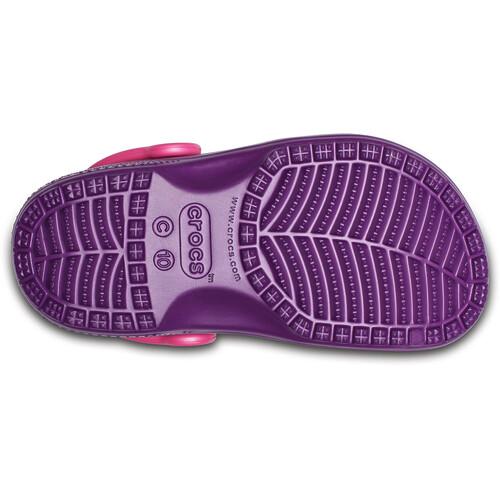 Crocs Classic Graphic - Sandales Enfant - violet achat Pas Cher Avec Paypal De Nouveaux Styles En Vente En Ligne Prendre Plaisir HaqlM8ORdR
